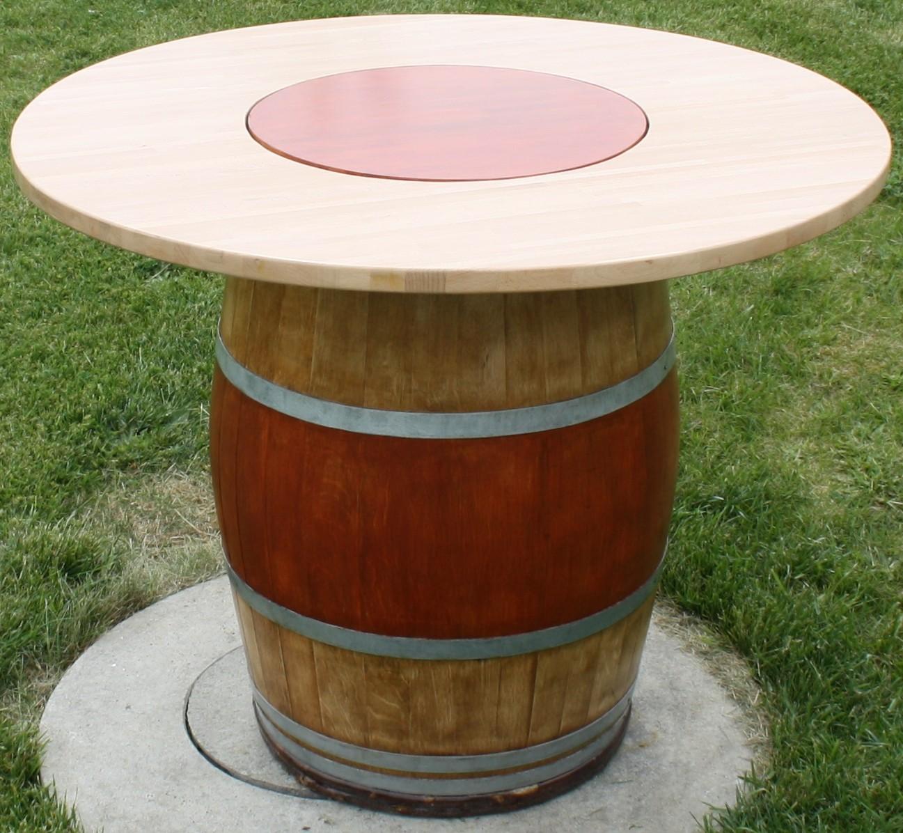 Tournant Tonneaux Juls Avec Plateau Table Design VUzSMp